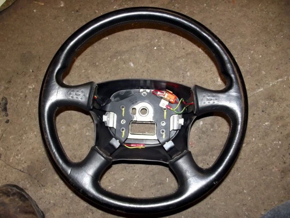 Steering wheel, MX-5 mk1, Momo, leather, NA0832980B USED 26